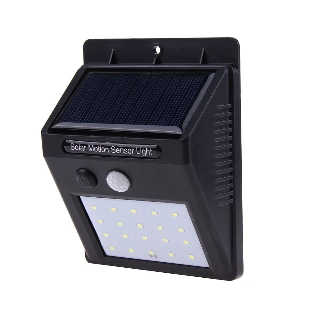20LEDs Waterproof Solar Light PIR Motion Sensor Solar Wall Lamp Outdoor Garden Street Security Solar Light Energy Saving Lamp