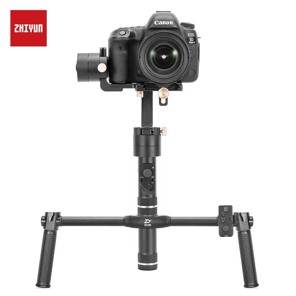 ZHIYUN Kran Plus Handheld Kamera Stabilisator, 3 achsen Gimbal für DSLR Sony A7 Canon 5D 6D Nikon D850 Z6 Z7 Panasonic GH5 Gimble