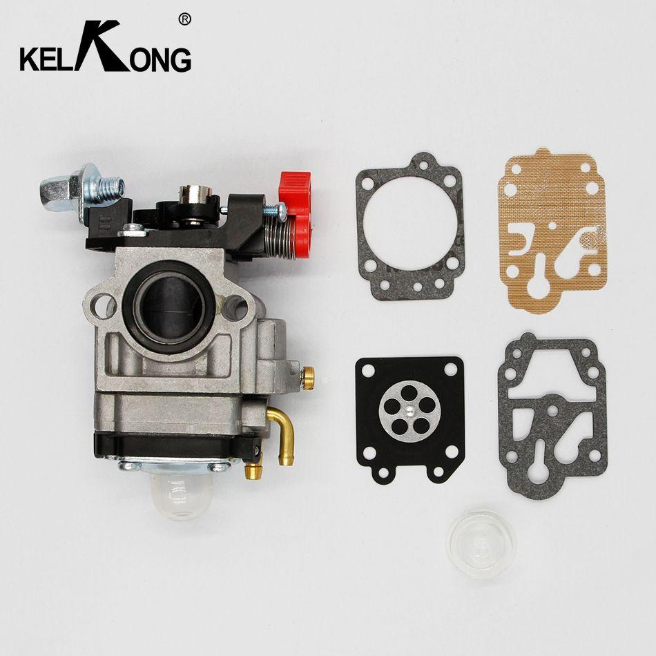 KELKONG New Design 52cc 47cc 49cc 15mm Mini Carb Carburetor 2-Stroke Gas Scoot Mini-Choppers ATVs Mower 40-5