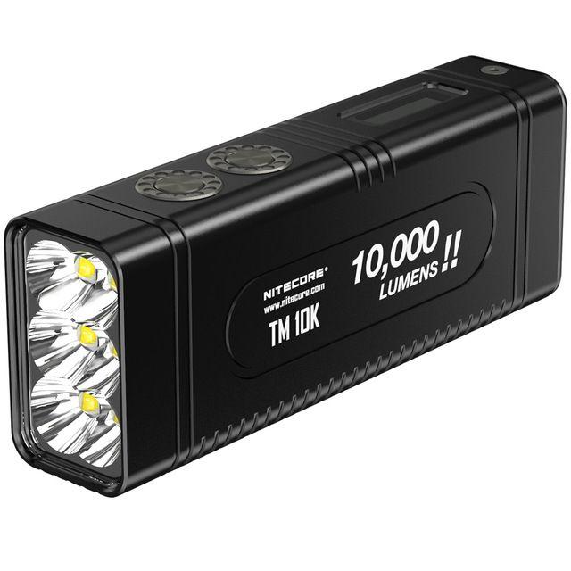 2018 NITECORE Tiny Monster TM10K 10000 Lumen 6 x CREE XHP35 HD LED Wiederaufladbare Hight Licht Taschenlampe Eingebaute 4800 mah batterie