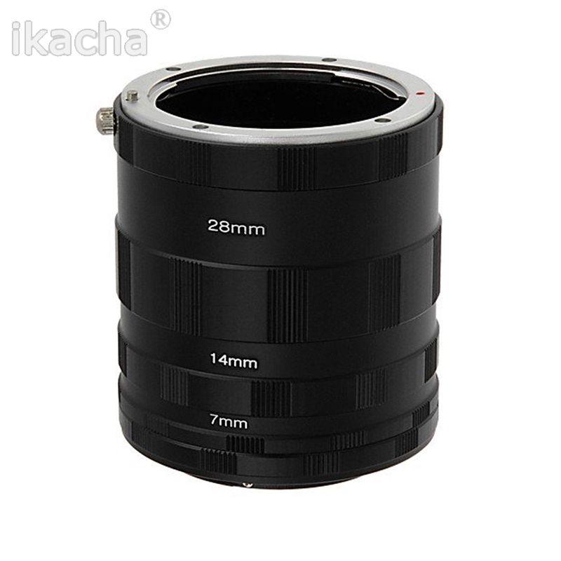 3 D'extension Macro Tube Anneau Adaptateur D'objectif pour Nikon D800 D3100 D5000 D7000 D70 D50 D60 D100 Caméra