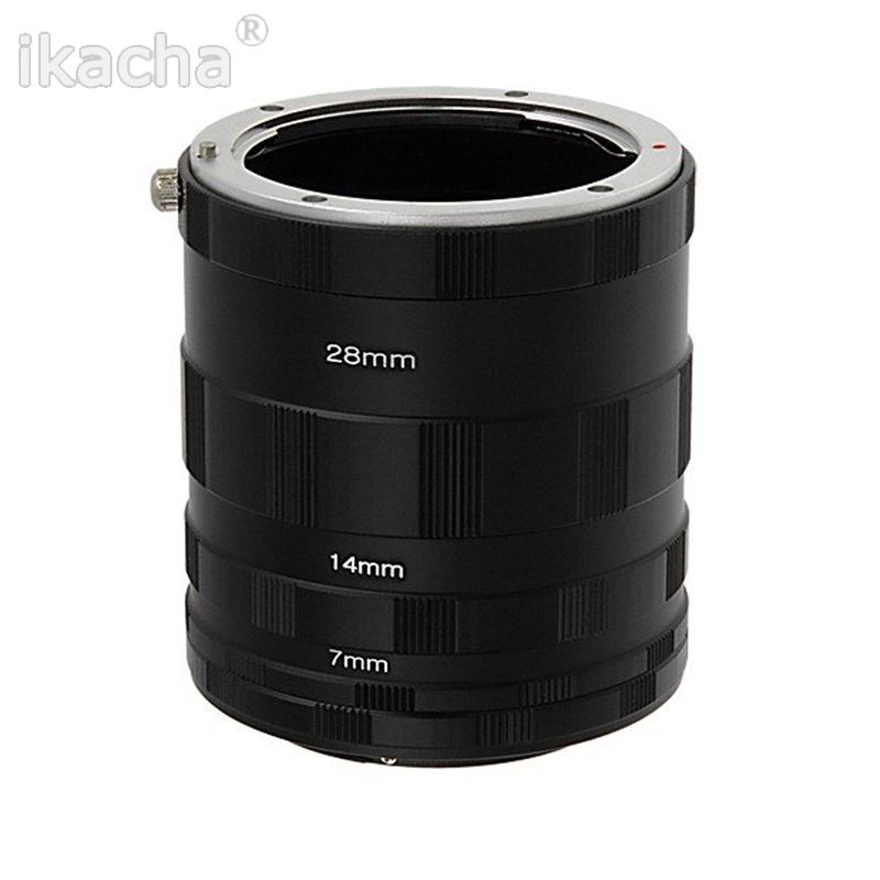 3 Macro Extension Tube Ring Lens Adapter for Nikon D800 D3100 D5000 D7000 D70 D50 D60 D100 Free shipping