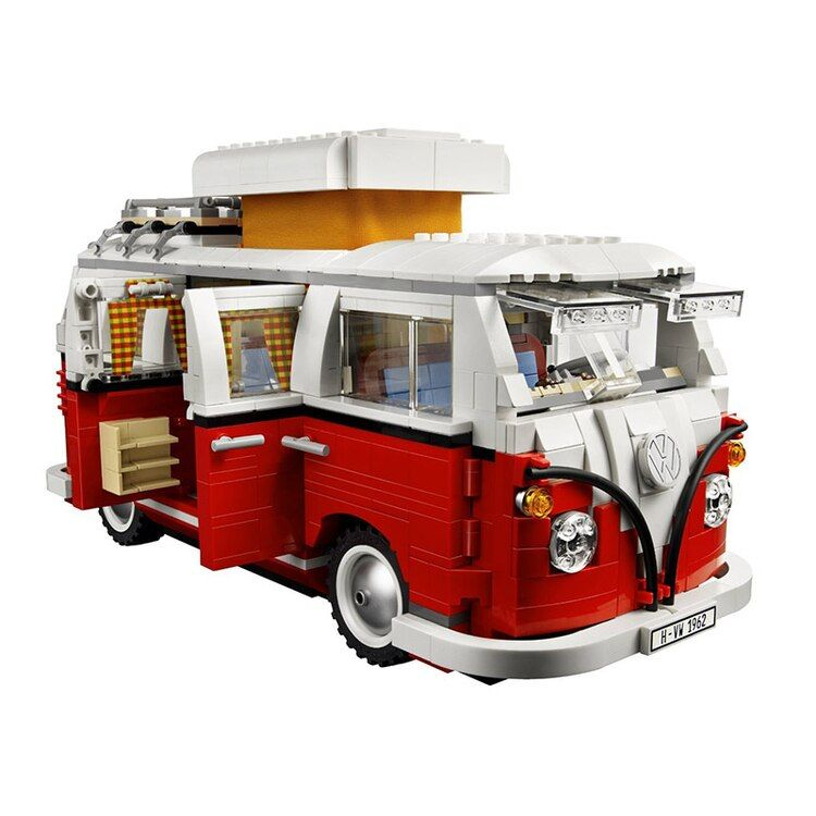 YILE 306 Ideas series the T1 Camper Van Model Building Blocks Compatible 10220 Classic Technic car-styling toys for children