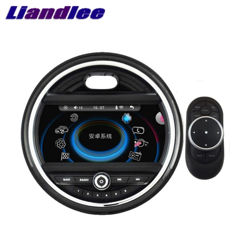Liandlee Für Mini One Cooper S Luke F55 F56 2014 ~ 2018 Auto Multimedia Player NAVI iDrive CarPlay Adapter Radio GPS Navigation