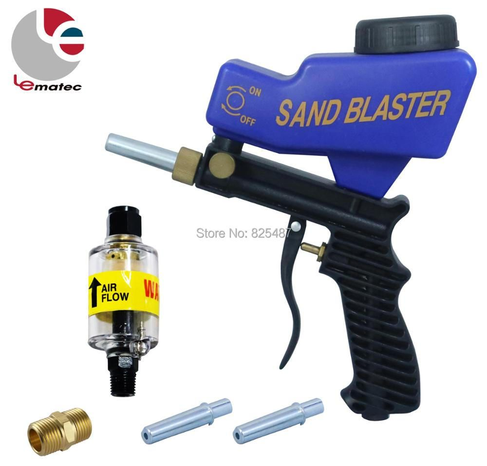 LEMATEC Sandblaster Gun With 1/4