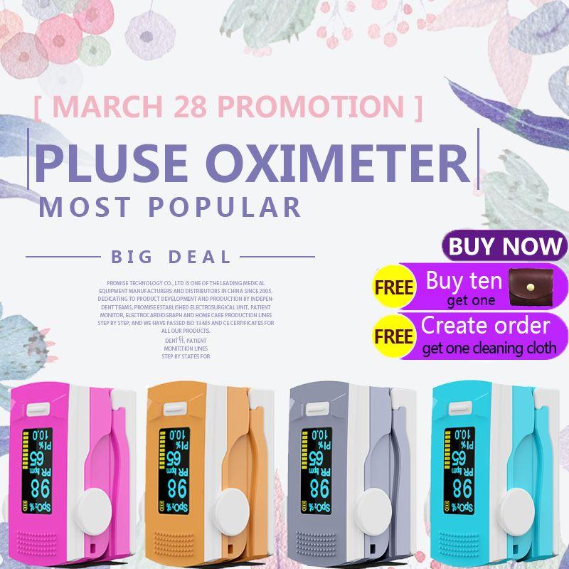 PR + MISE oxymètre de pouls OLED ABS metrial moniteur de fréquence cardiaque