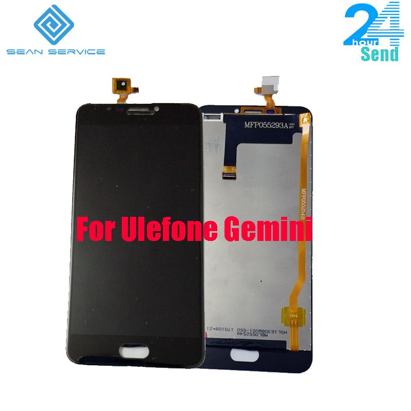 For Original Ulefone Gemini LCD Display and TP Touch Screen Digitizer Assembly lcds +Tools Ulefone Gemini Phone 5.5 inch