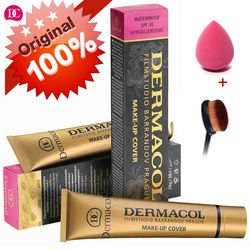 Dermacol High Quality Concealer Makeup For Face Foundation Cover Freckles Acne Marks Waterproof Cosmetic Palette Contouring