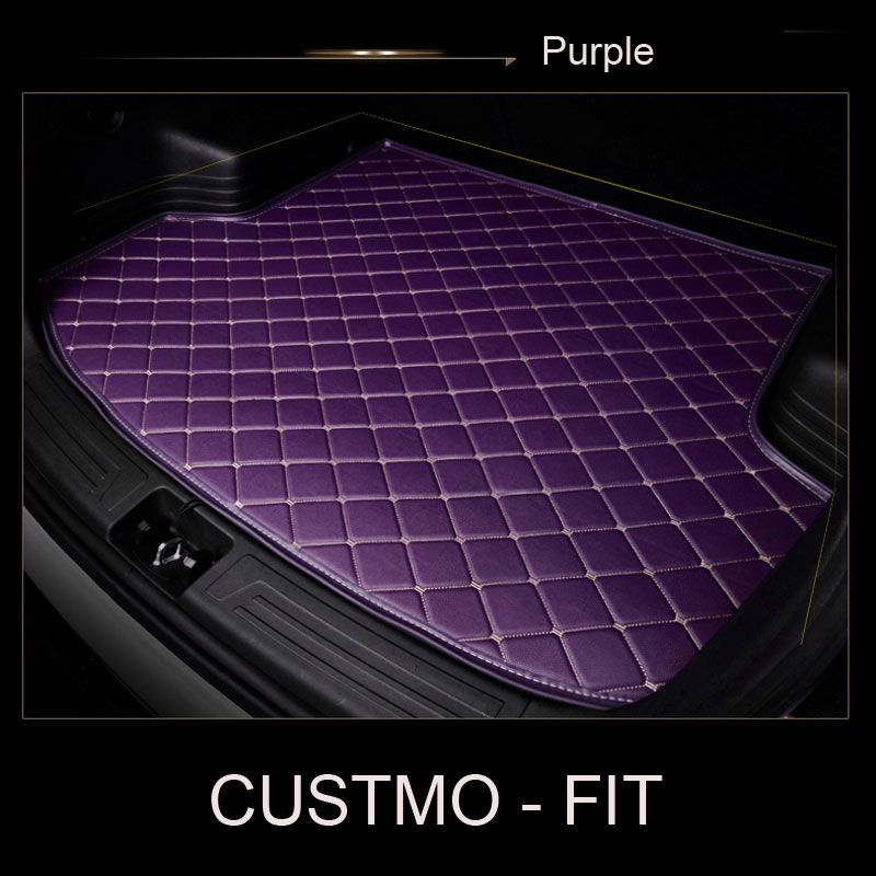 Car trunk mat for Tesla Model S Model X fit Jaguar F-PACE F-TYPE XF XJ XE XFL for Alfa Romeo Stelvio Giulia car-styling carpet