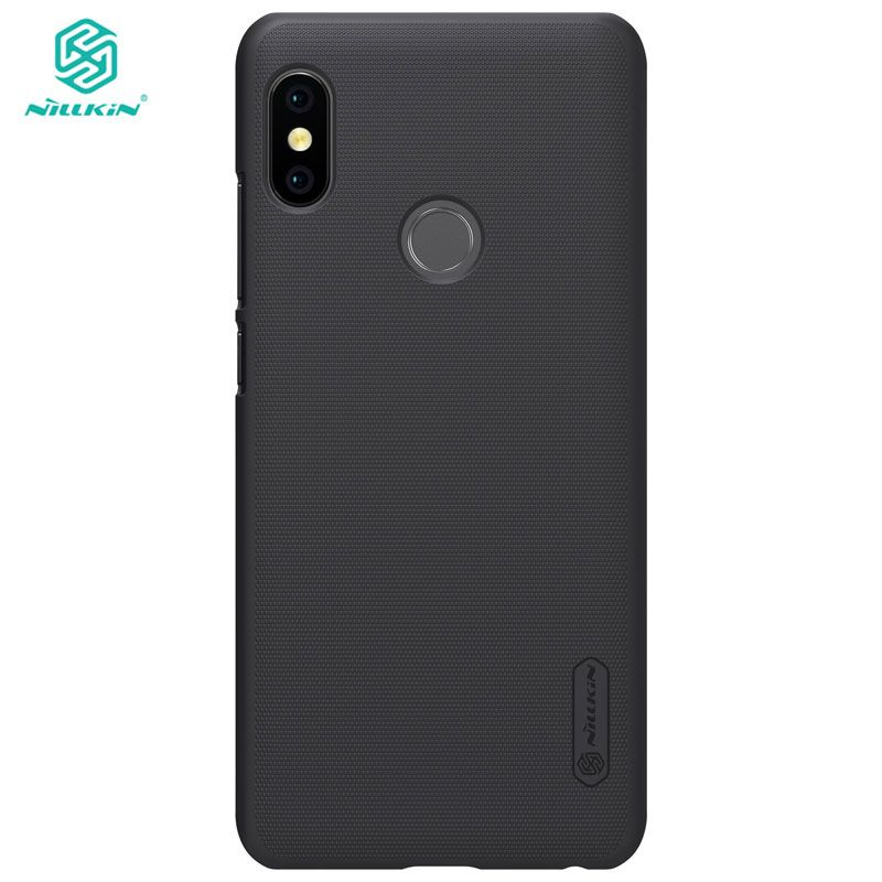 Xiaomi Redmi Note 5 Case NILLKIN Frosted PC Hard Back Cover Case for Xiaomi Redmi Note 5 Pro Global Version 5.99 inch with Film