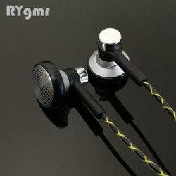 RY04 original in-ear Earphone metal  15mm music  quality sound HIFI Earphone (IE800 style cable) 3.5mm stereo earbud headphones
