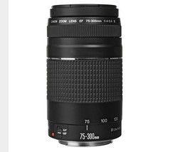 75-300mm lente Canon EF 75-300mm f/4-5.6 III teleobjetivo para canon EOS 1300D 650D 700D 60D 70D 80D 6D 7D 5D2 5D3 T3i T5i T6