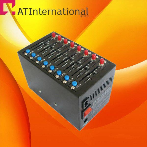 Lowest price!wavecom gsm GPRS gate way 8 ports modem pool Q2403