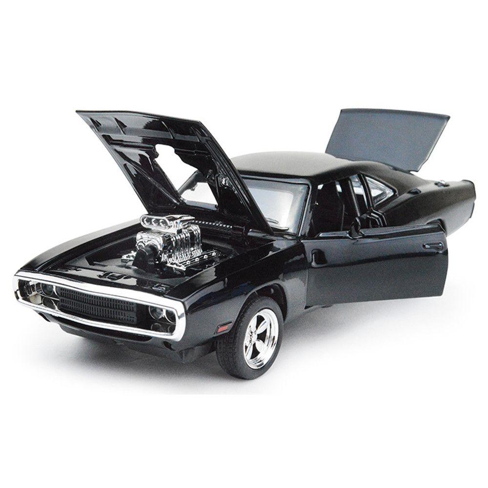 1:32 le rapide furieux 7 Dodge chargeur alliage moulé sous pression modèles voiture brinquedos métal classique modèle voitures oyuncak jouets JHTY048