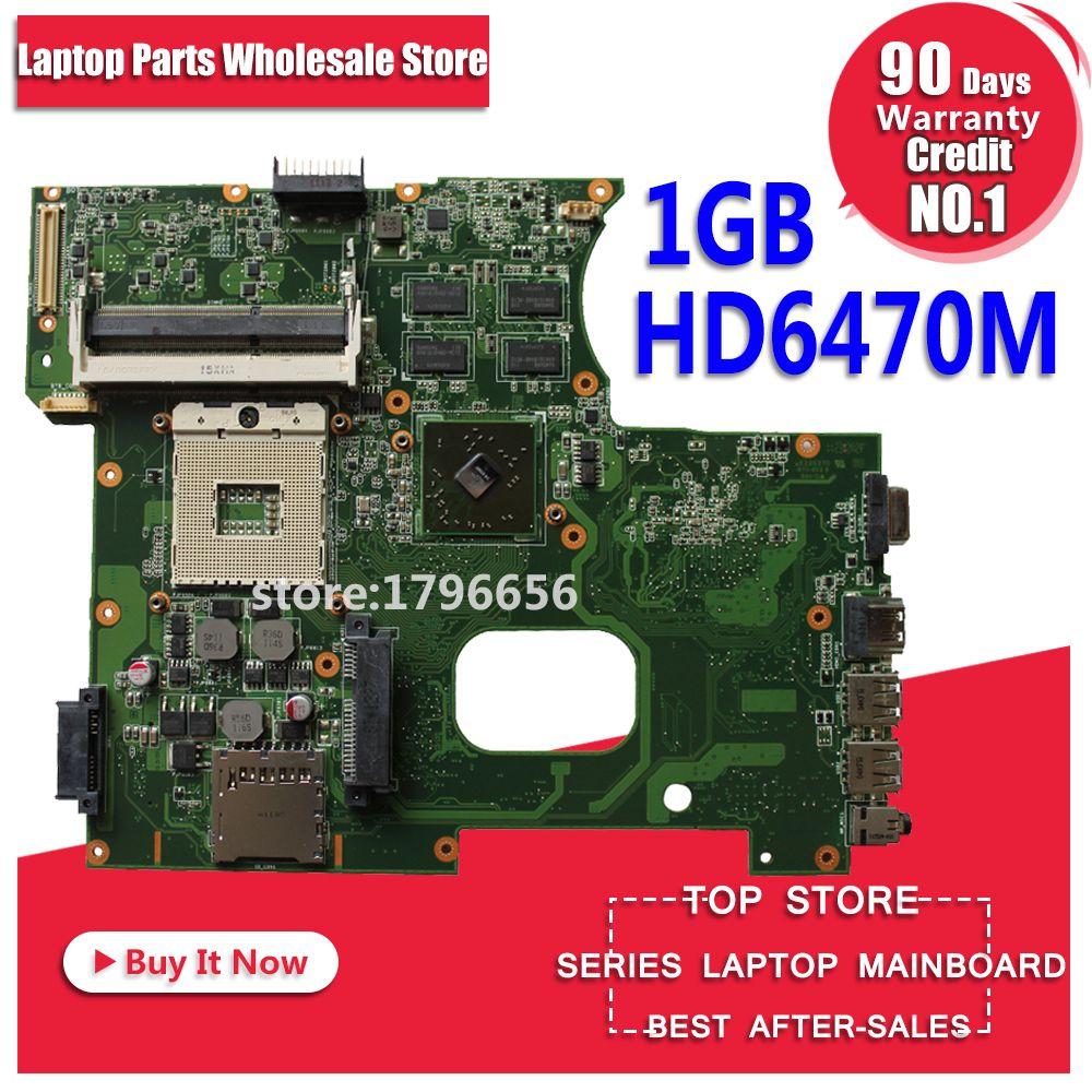 K42JY Carte Mère HD6470M 1 GB REV: 4.1 Pour ASUS X42J A42J K42JR Mère d'ordinateur portable K42JY Carte Mère K42JY Carte Mère test 100% ok