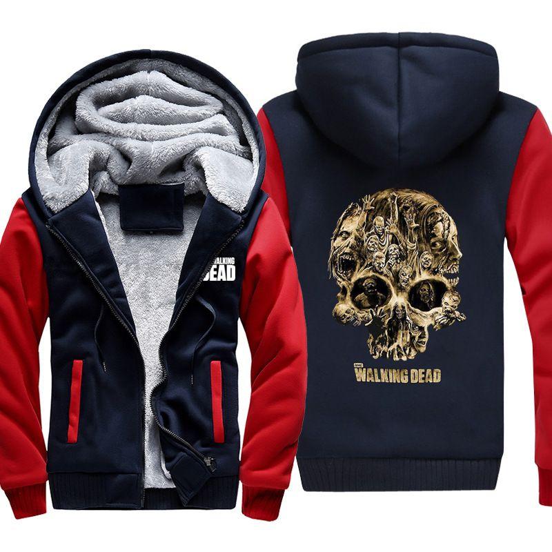 The Walking Dead GRIMES DIXON Zombie Herren Jacke Hoodies Mäntel Weich Unisex Sweatshirts US größe