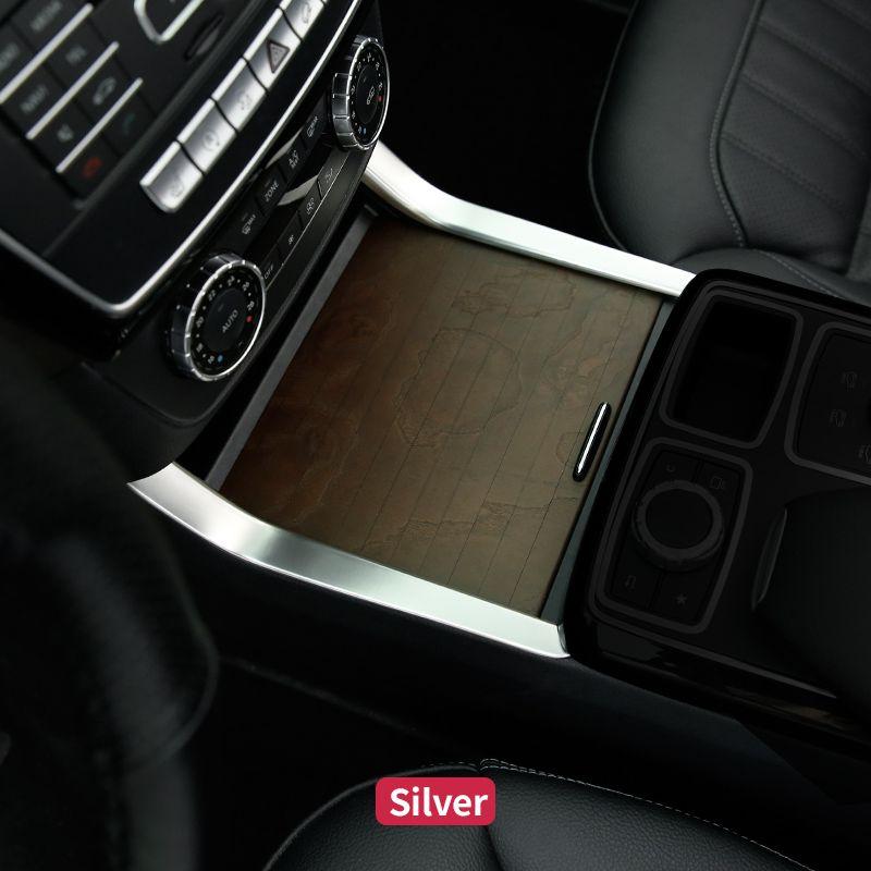 Pour Mercedes Benz ML320 350 2012 GLE coupé W166 c292 350d GL450 x166 GLS amg Console centrale garnitures latérales cadre accessoires