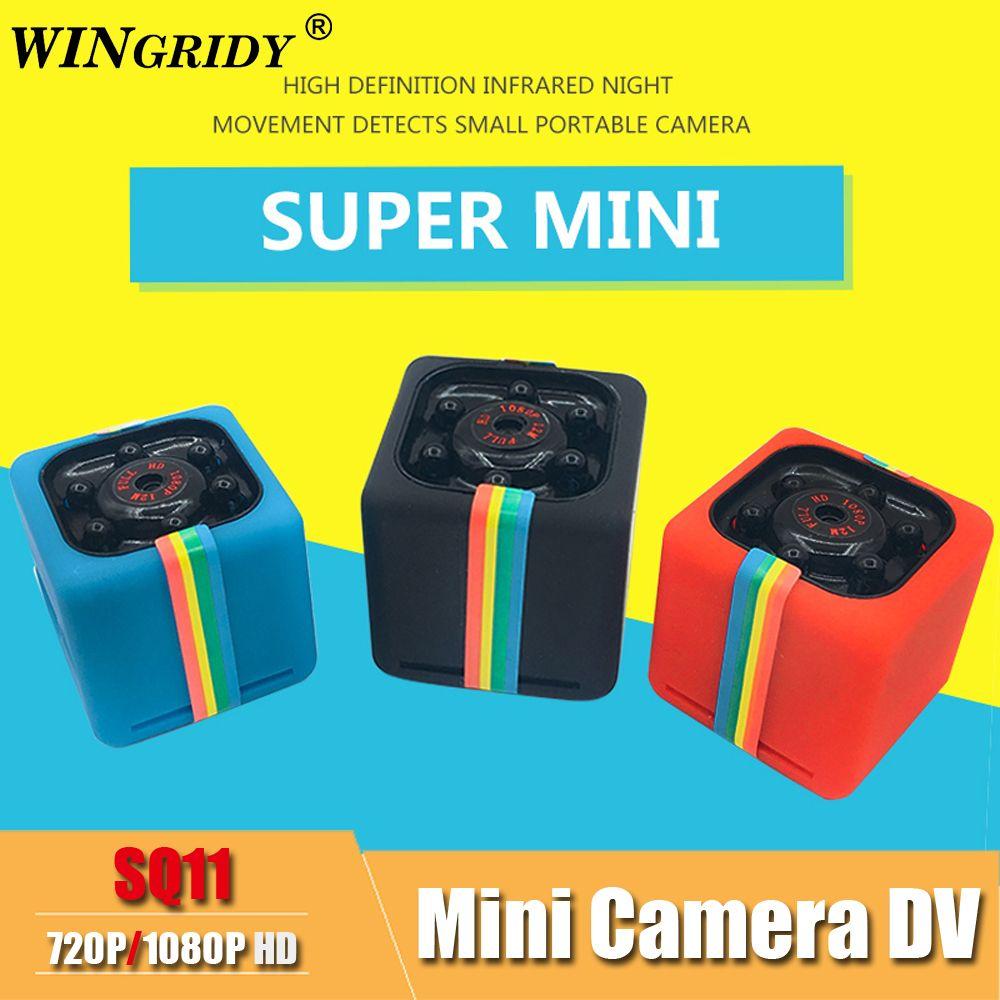 SQ11 PRO SQ 11 mini Caméra 720 p 1080 p HD Capteur de Vision Nocturne Caméscope Micro Caméra vidéo DVR DV mouvement Enregistreur Caméscope SQ13