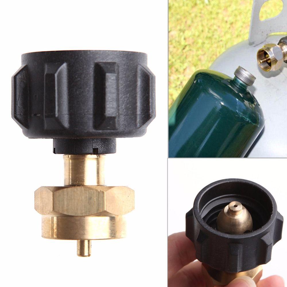 1 LB Gas Propane QCC1 Regulator Valve Propane Refill Adapter Outdoor BBQ New