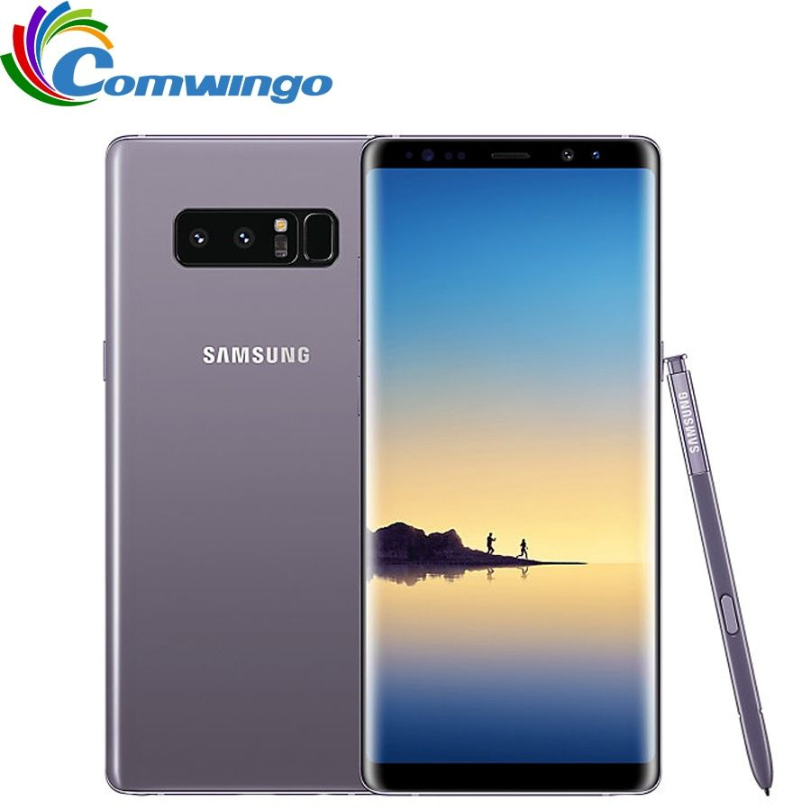 Original Samsung Galaxy Note 8 6 GB RAM 64 GB ROM 6,3 zoll Octa-core Dual Zurück Kamera 12MP 3300 mAh Entriegelte Intelligente Handy