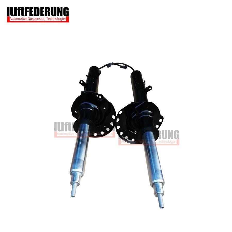 Luftfederung 2pcs Shock Absorber With Sensor Rear Suspension Spring Strut Assembly Fit Land Rover Evoque BJ3218080 BJ3218K004