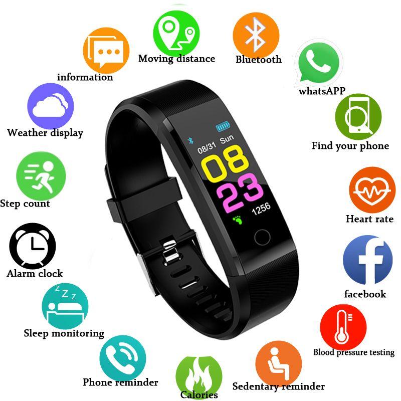 ZAPET nouvelle montre intelligente hommes femmes moniteur de fréquence cardiaque pression artérielle Tracker Fitness Smartwatch Sport montre pour ios android + BOX