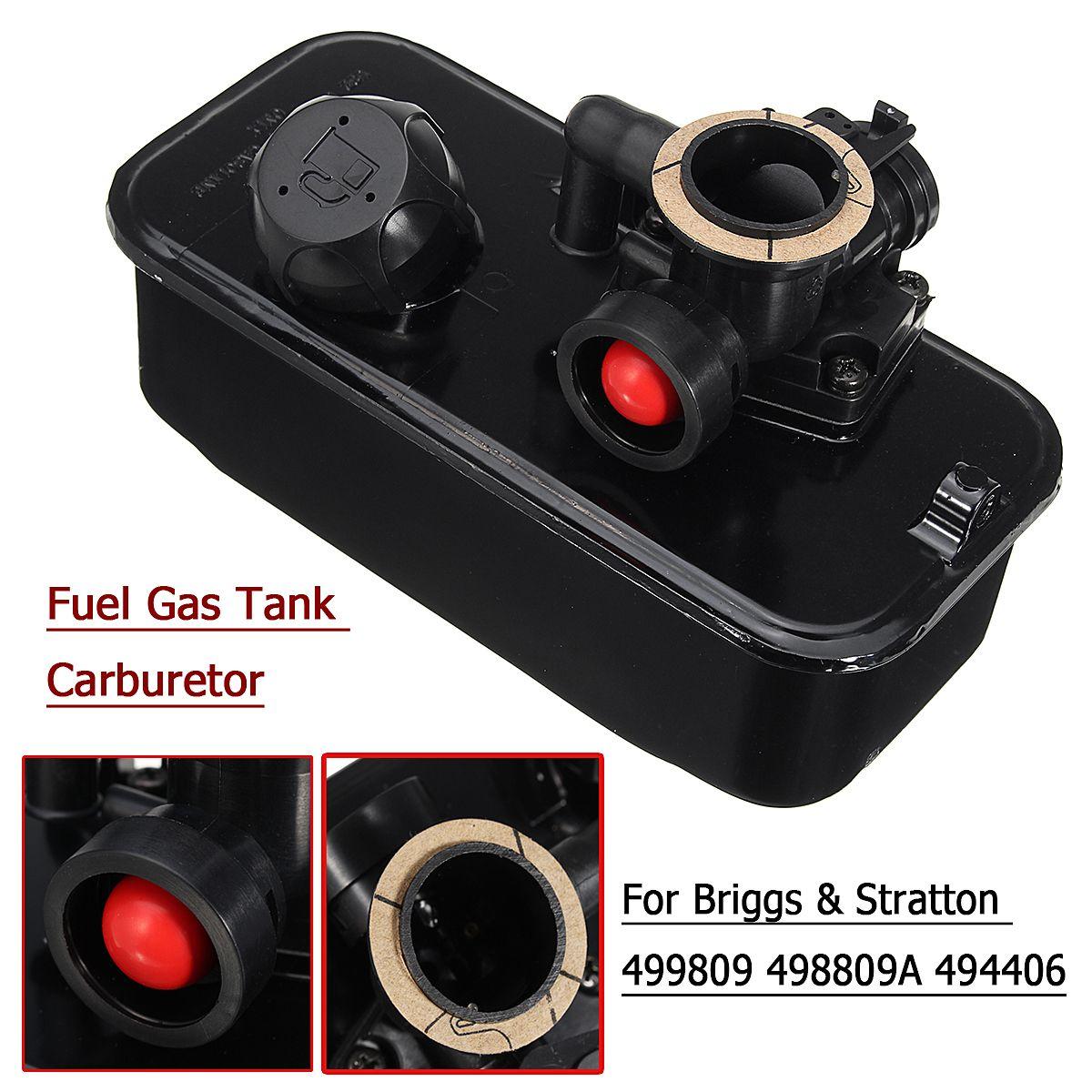 Kraftstoff Gas Tank Mäher Vergaser Carb für Briggs & Stratton 499809 498809A 494406