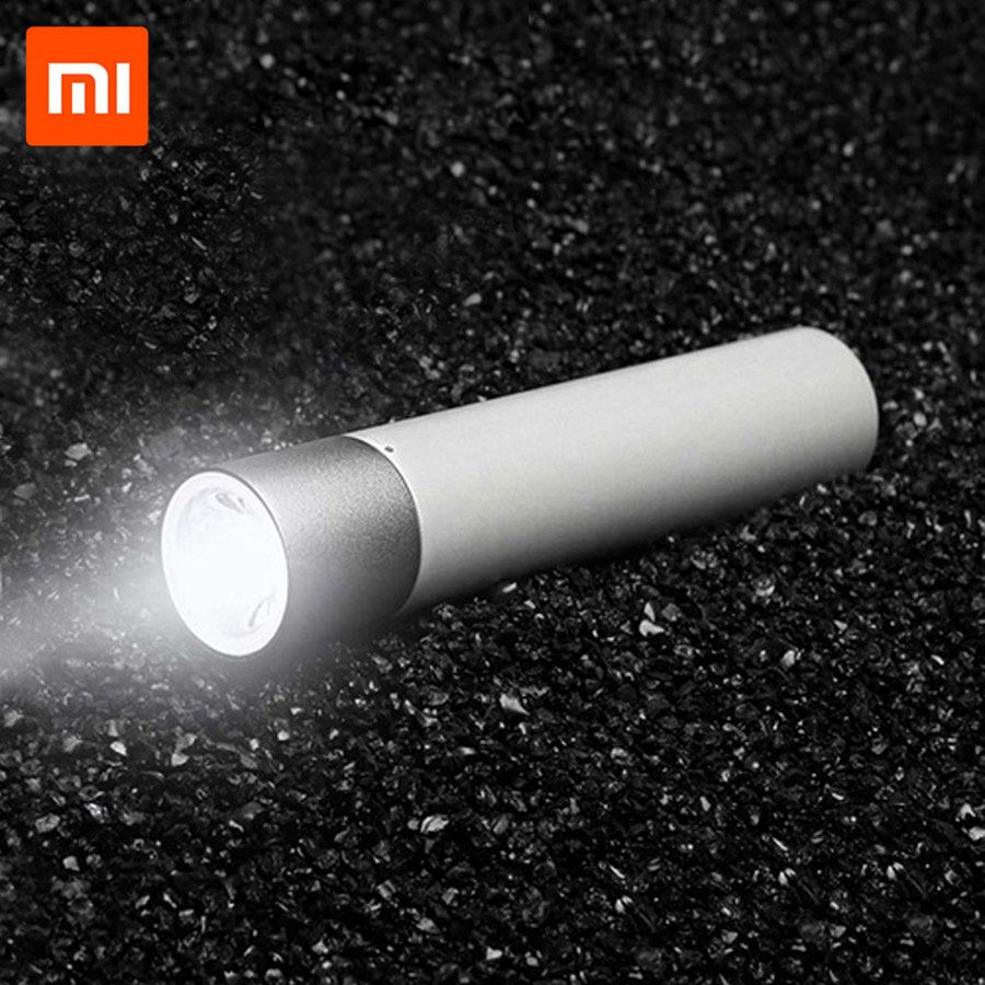 Original Xiaomi Tragbare Taschenlampen USB Lade 11 Einstellbar Leuchtdichte Modi Mit Drehbare Lampe Kopf 3350 mah Lithium-Batterie