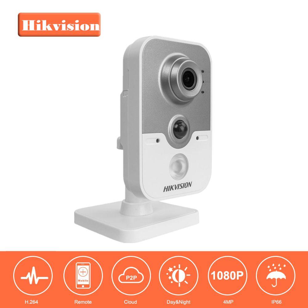 En Stock HD Sans Fil IP Caméra 1080 P DS-2CD2442FWD-IW 4MP IR Cube Réseau WiFi Caméra Android Soutien Remplacer DS-2CD2432F-IW