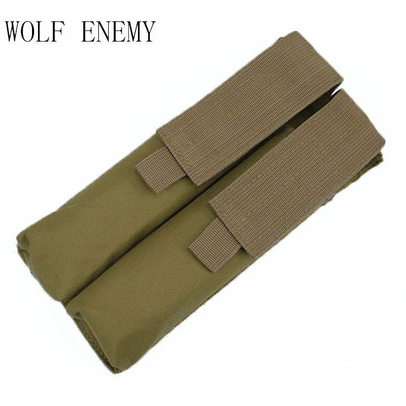 Offre spéciale Combat P90 Airsoft Molle Double tactique militaire UMP Magazine poche sac tactique extérieur