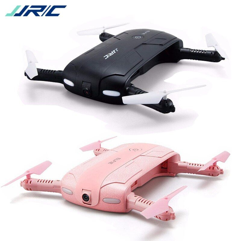 JJR/C JJRC H37 Elfie Mini Selfie Foldable Drone FPV 2MP HD Camera Headless APP Control Quadcopter Black Pink VS Eachine E50 E50S