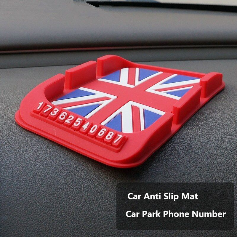 Silicone Car Anti Slip Mat Magic Dash Mat Dashboard Sticky Pad For Phone GPS PDA Non Slip Pad Car Sticker Car Phone Number