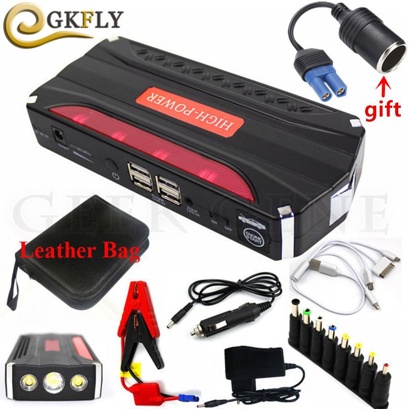 Multi-Function 600A Car Jump Starter Power Bank Portable 12V Starting Device Mini Car Starter For Car Battery Booster Charger CE