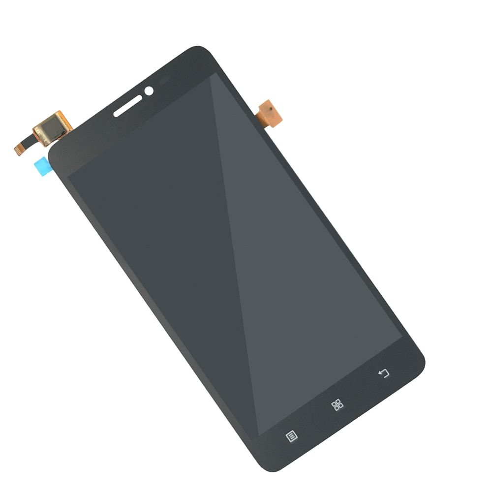 tested LCD display assembled with touchscreen for Lenovo S850 black Screen Display with Touch Screen Digitizer frame Assembly