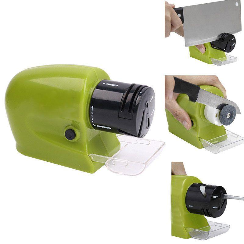 Aiguiseur de couteau électrique professionnel aiguiseur de couteau motorisé aiguiseur de pierre d'affûtage rotatif outil d'affûtage