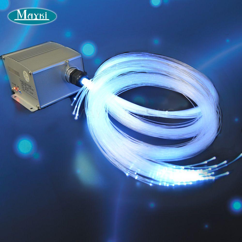Maykit New 5w Led Star Light Ceiling Kit For Twinkle Starry Sky Children Room With 328pcs Saft Fiber 4m Length RF Controller