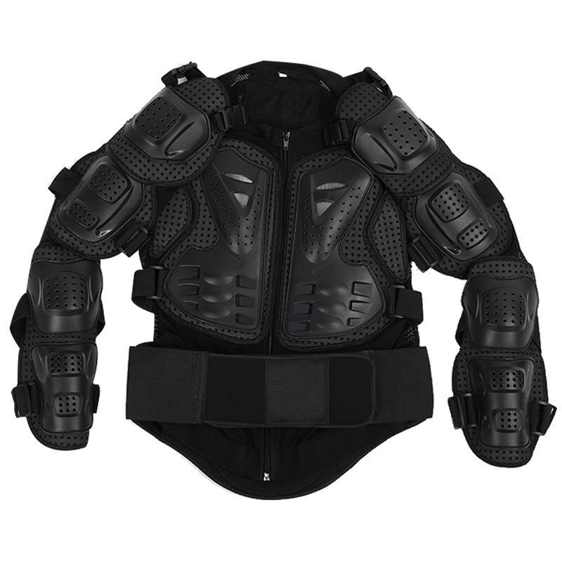 VODOOL Motorcycle Protective Armor Jacket Protection Motocross Clothing Protector Back Armor Protecting Body Jacket 2018 Newest