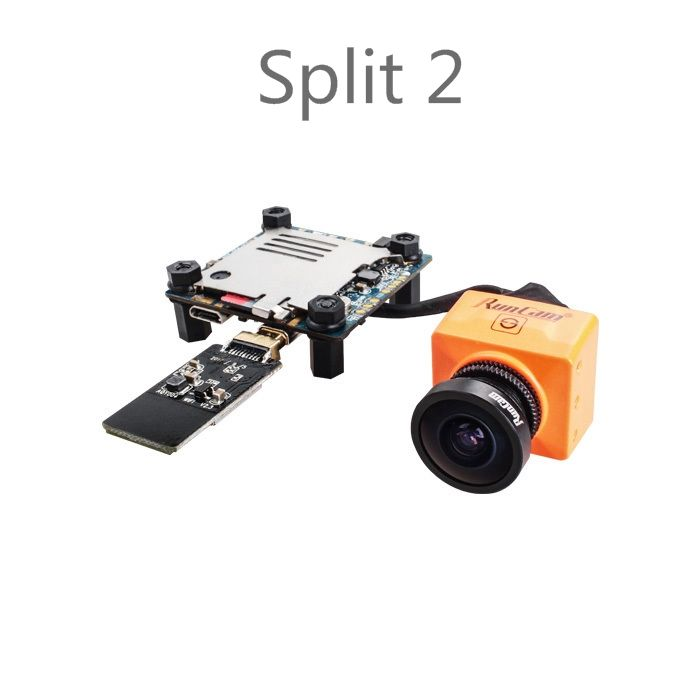 RunCam Split 2/Split mini FPV WiFi Camera 2 Megapixels 1080P/60fps HD recording plus WDR NTSC/PAL for Racing Drone Quadcopter