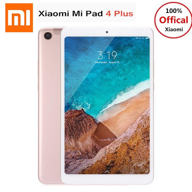 Xiao mi mi Pad 4 Plus 4g Phablet 10,1 ''mi UI 9,0 Qualcomm Snapdragon 660 4 gb + 64 gb Gesichts Anerkennung 13MP Cam Dual WiFi Tablet PC