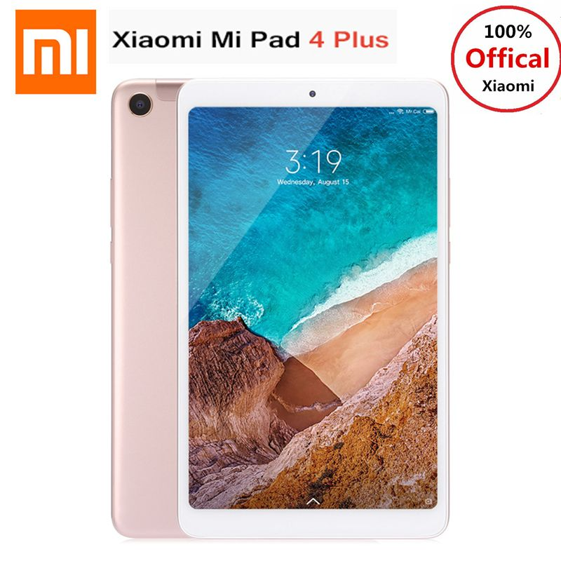 Xiaomi Mi Pad 4 Plus 4G Phablet 10.1'' MIUI 9.0 Qualcomm Snapdragon 660 4GB+64GB Facial Recognition 13MP Cam Dual WiFi Tablet PC
