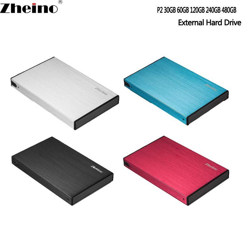 Zheino Portable SSD USB3.0 60 GB 120 GB 240 GB 360 GB 480 GB 128 GB 256 GB 512 GB GB 1 to disques durs à semi-conducteurs externes