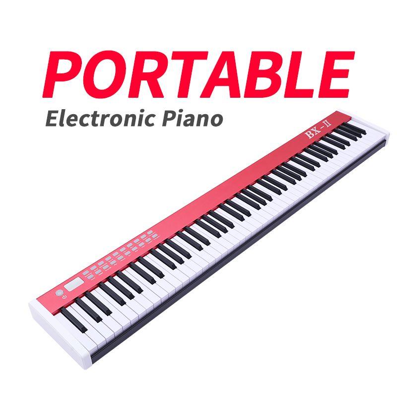 Tragbare 88 key professionelle grand elektronische klavier für biggner kinder erwachsene musik instrument