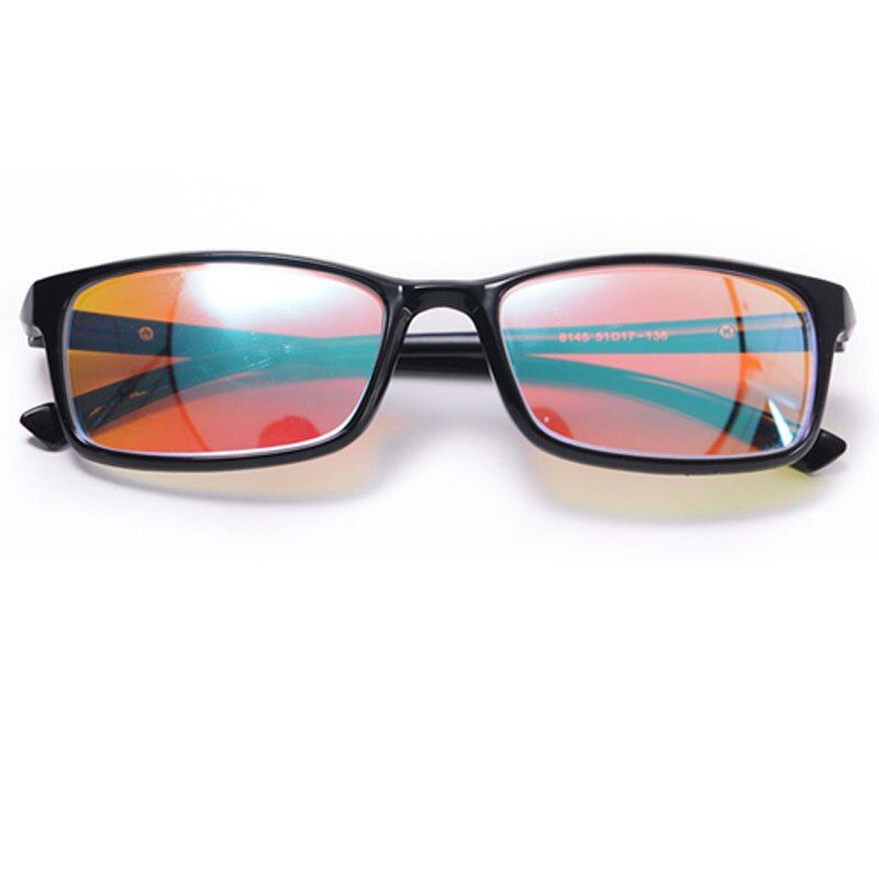 Color-blindness Glasses Red Green Color Blind Corrective HD Eyewear Women Men Colorblind Driver's License Eyeglasses