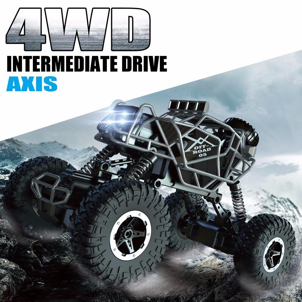Kedior RC автомобиль 4WD удаленного Управление автомобиля скалолазание автомобиль 4x4 двойные двигатели внедорожник йети игрушки для мальчиков д...