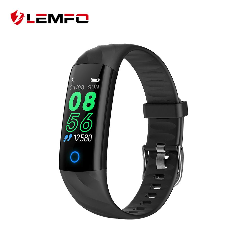 LEMFO Sport Smart Bracelet IP68 Waterproof Color Screen Smart Band Heart Rate Blood Pressure Pedometer Activity Tracker