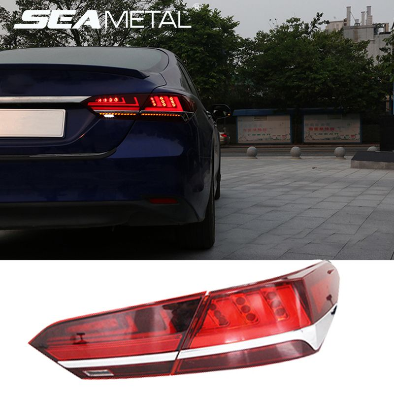 Car Taillights For Toyota Camry 2018 2019 Tail light Assambly Turning+Reversing+Fog+Brake Signal camry tail lights Accessories