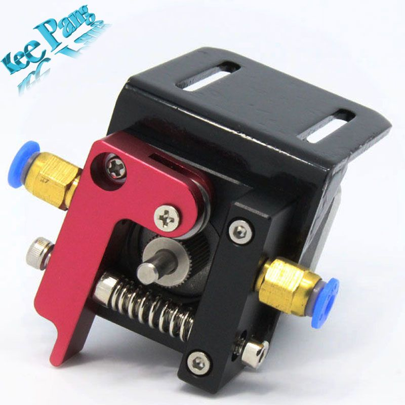 Improved Version Printer Parts MK8 Full Metal Aluminum Alloy Bowden Extruder for 1.75MM Filament freeshipping