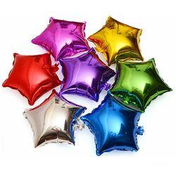10 шт./партия, 10 дюймов, пятиконечная звезда, фольга, воздушный шар для Бэйби Шауэр, свадебные детские украшения на день рождения, Детские возд...