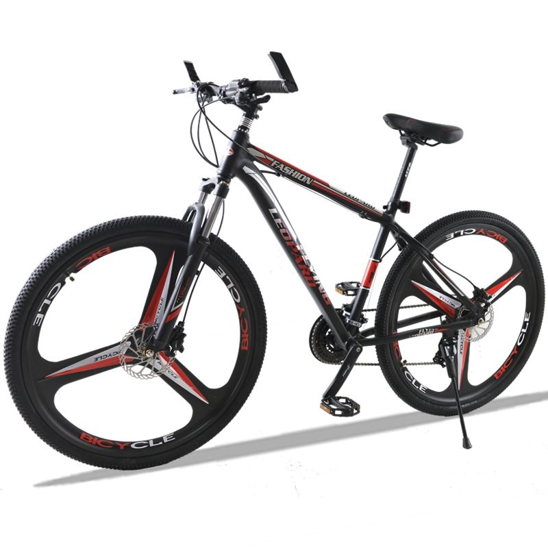 bicycle Mountain Bike 27Speed 3-Spoke 29 Inches Wheels Dual Disc Brake Aluminum Frame MTB Bicycle Hydraulic brake