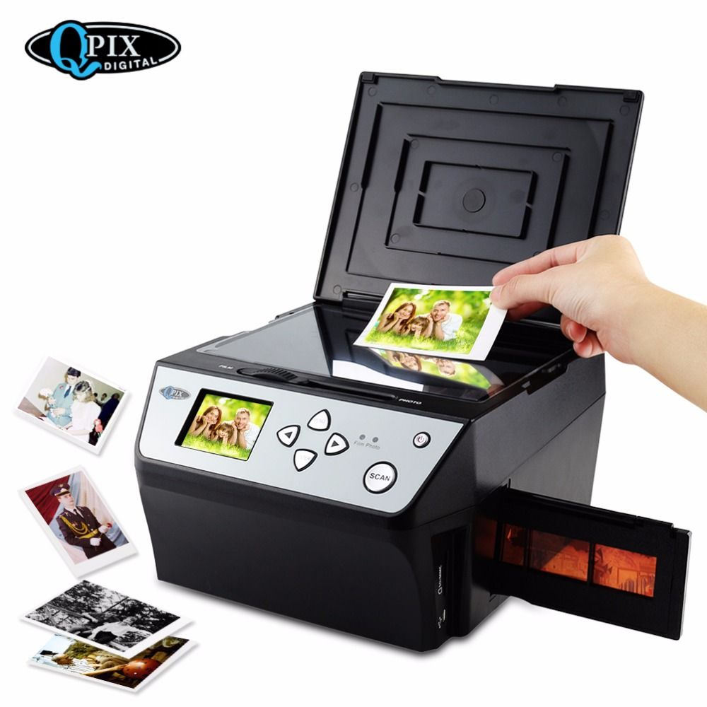 22 Mega Pixels 4 in 1 COMBO Photo and Digital Film Scanner 135 Negative Converter Photo 35 mm Film Scanner Business Card Scanner